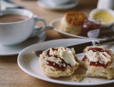 Cornish Cream Tea Jam Then Cream