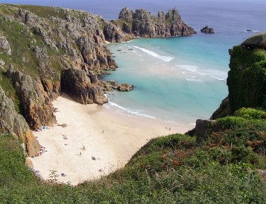Pedn Vounder Beach South Cornwall